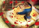 【在庫あり】ジグソーパズル テンヨー 500ピース ジグソーパズル 美女と野獣 真実の愛の物語 (35x49cm) ブラウン(D-500-665) テンヨー 梱60cm t104