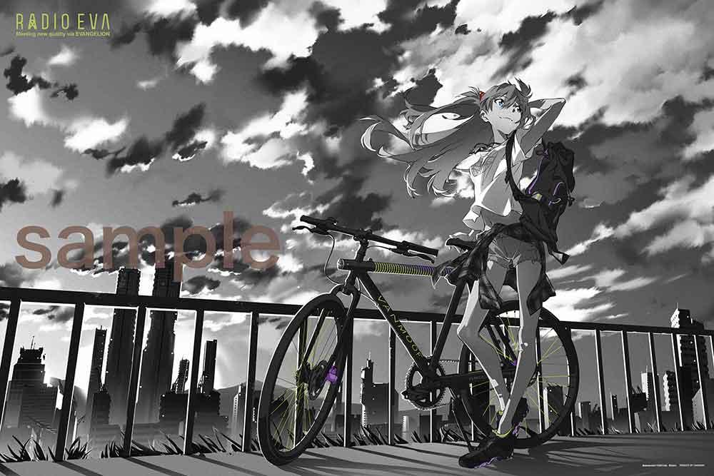 パズル, ジグソーパズル  1000 RADIO EVA Illustration 01 (50x75cm)(10-1365) 60cm t110