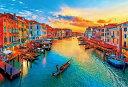 【在庫あり】ジグソーパズル 1000ピース ジグソーパズル 夕陽に染まるヴェネツィア(49×72cm)51-267(51-267) ビバリー 梱60cm t102