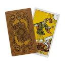 【送料無料】タロットカード ライダー ウェイト版 Tarot Deck (スタンダードサイズ 12cm * 7cm, 78枚フルセット) 美しいオリジナル背表紙デザイン・・・