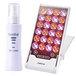 ExidealminiエクスイディアルミニEX-120/スキンローション(エクスイディアル専用化粧水)セット/LED/エステ/コラーゲン/光エステ/エイジングケア/コンパクト
