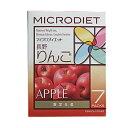 サニーヘルス マイクロダイエット MICRODIET ドリンク(長野りんご味)7食[ 自然派ダイエット / 置き換え ]