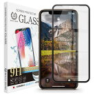 iPhone11Pro/iPhoneXS3DPETブラックフレームガラスフィルム全面保護強化ガラス保護フィルムフィルム硬度9H0.3mm【BELLEMOND】iPhone11Pro/XS3DPETCLBK定形外