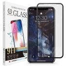 iPhone11/iPhoneXR3DPETブラックフレームガラスフィルム全面保護強化ガラス保護フィルムフィルム硬度9H0.3mm【BELLEMOND】iPhone11/XR3DPETCLBK定形外