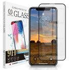 iPhone11Pro/iPhoneXS4Dブラックフレームガラスフィルム全面保護強化ガラス保護フィルムフィルム硬度9H0.3mm4DCLBK定形外