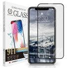 iPhone11/iPhoneXR4Dブラックフレームガラスフィルム全面保護強化ガラス保護フィルムフィルム硬度9H0.3mmiPhone11/XR4DCLBK定形外