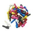 《即納》FF-R (エフエフアール) TL-109F-520 Stainless Color bolts (ステンレスカラーボルト) M5×20/6本セット
