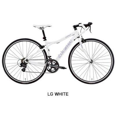 【在庫処分30%OFF&鍵プレゼント】【補助ブレーキ付き】LOUISGARNEAU(ルイガノ)2016年モデルLGS-CR07[ロードバイク・ロードレーサー][アルミフレーム]