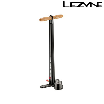 【GWも営業中】LEZYNE(レザイン)STEELFLOORDRIVEABS-2(スチールフロアドライブ)[ポンプ・空気入れ][フロアポンプ]
