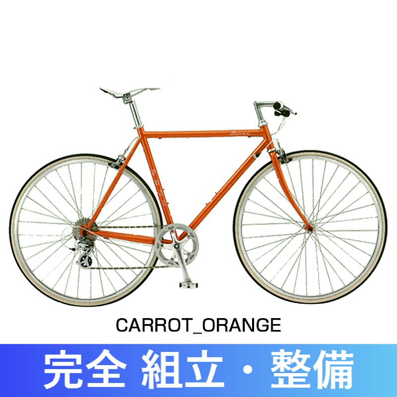 《在庫あり》【オシャレなカギプレゼント】FUJI(フジ) 2017年モデル BALLAD (バラード バラッド)[キャリパーブレーキ仕様][クロスバイク]:自転車のQBEI 支店