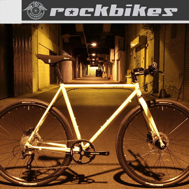 《在庫あり》ROCKBIKES(ロックバイクス) GREED phase2 (グリードフェーズ2)[クロスバイク][初心者にオススメ!][通勤通学]