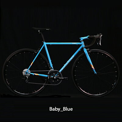 《在庫あり》ROCKBIKES(ロックバイクス) ENVY (エンヴィー) TIAGRA完成車[ホリゾンタル][スチールフレーム] 【自転車安全整備士による完全組立・点検整備の完成車】