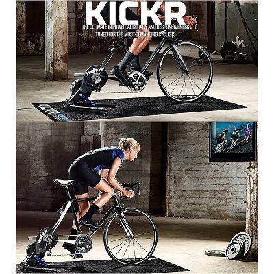 【新型】【チームSKYがトレーニングに使用するモデル】wahoo(ワフー)KICKRSMARTTURBO(キッカースマートトレーナー)[タイヤドライブ式][固定式ローラー台]