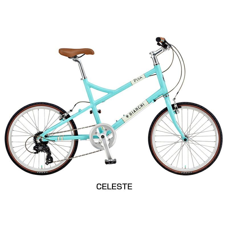 Bianchi(ビアンキ) 2018年モデル PISASPORTFLATBAR (ピサスポーツフラットバー)[コンフォート][ミニベロ/折りたたみ自転車]:自転車のQBEI 支店