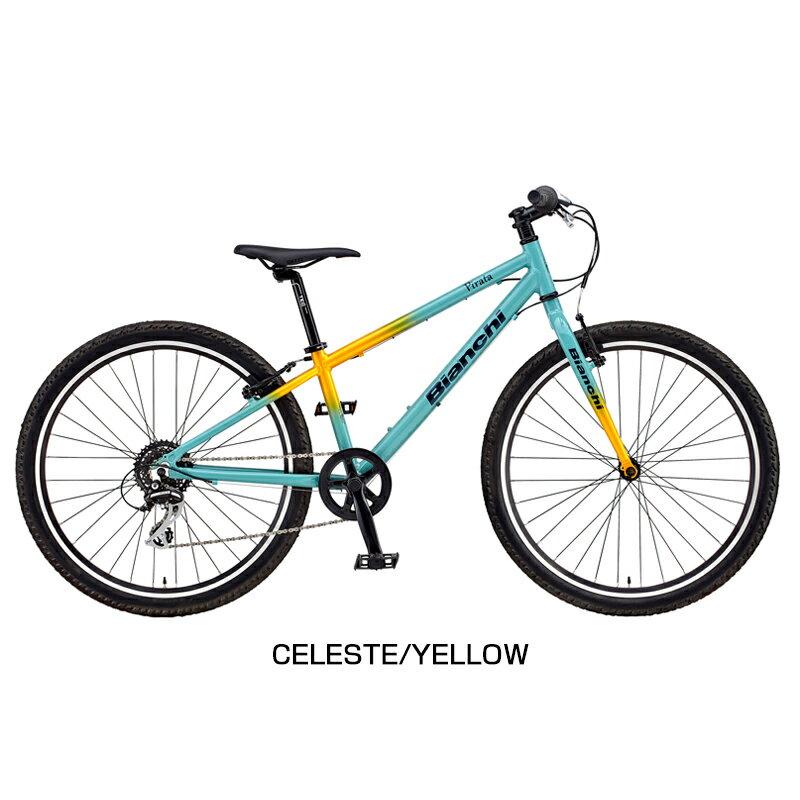 Bianchi(ビアンキ)2018年モデル PIRATA26 (ピラタ26)[26インチ][マウンテンバイク][ジュニア・キッズ(子供用自転車)]:自転車のQBEI 支店