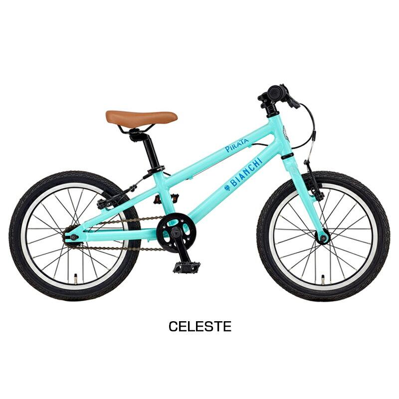 Bianchi(ビアンキ)2018年モデル PIRATA16 (ピラタ16)[16インチ][幼児用自転車]:自転車のQBEI 支店