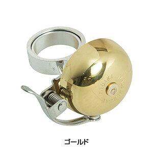 OHGI(扇工業) ひびきベル(アヘッド取付タイプ) ゴールド[ベル・バックミラー][パーツ・アクセサリ]