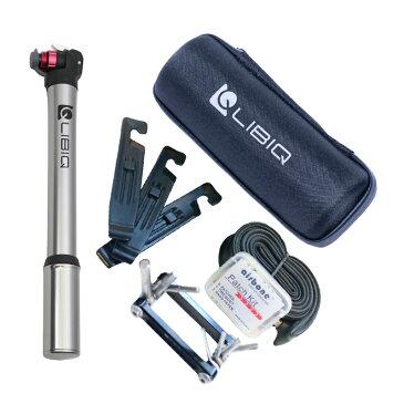 《即納》【あす楽】スポーツバイク入門セット LIBIQ(リビック) パンク修理キット チューブ 携帯工具 必要なもの全部入り