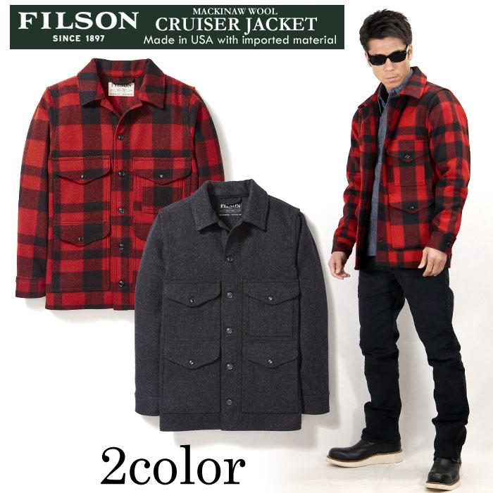 メンズファッション, コート・ジャケット  FILSON MACKINAW WOOL CRUISER JACKET 11010043