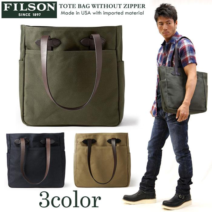 メンズバッグ, トートバッグ FILSON() TOTE BAG WITHOUT ZIPPER 11070260