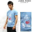 JUNKFOOD ジャンクフード 半袖Tシャツ Mickey Mouse USA ミッキーマウス w1749-7730