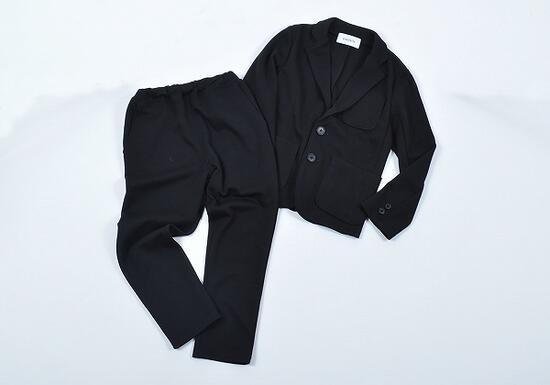 2021年ジェネレータースーツ1101201301401501602021年定番カノコ織りスーツ(上下セット)(ブラック)入学式スーツ男の子卒業式七五三フォーマル入学式男の子スーツジェネレーター子供服081102generator