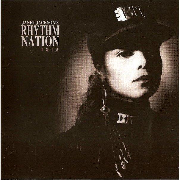 洋楽, R&B・ディスコ  CD JANET JACKSON RHYTHM NATION 1814 ALBUM
