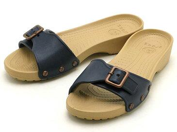 crocs sarah sandal w 203054-490クロックス サラ サンダル ウィメンネイビー/ゴールド