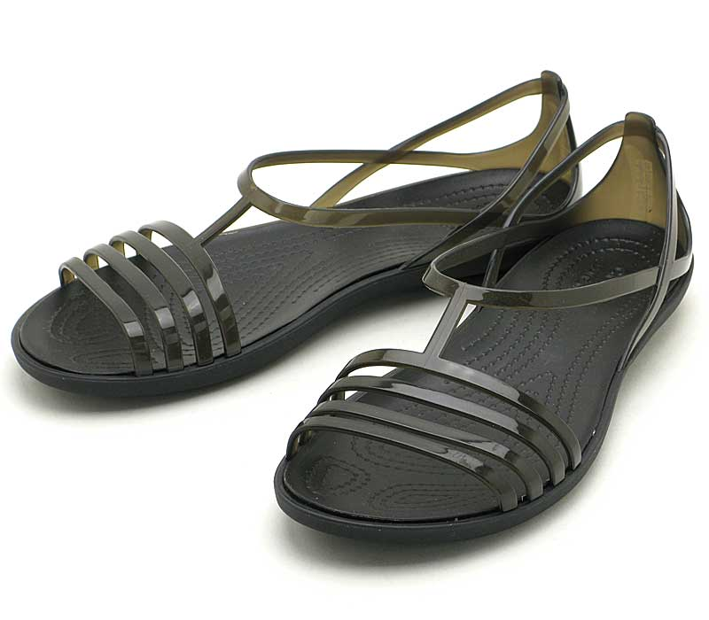 crocs isabella sandal w202465-001クロックス イザベラ サンダル ウィメンブラック