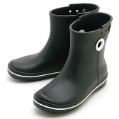 crocs jaunt shorty boot w 15769-001クロックス ジョーント ショーティー ブーツ ウィメンブラック