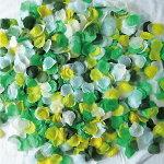 フラワーシャワー造花グリーン緑リーフシャワー