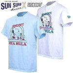 サンサーフSUNSURFハワイアンTシャツスヌーピーとその仲間たちとのコラボTシャツSunSurf×Peanuts