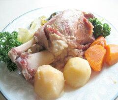 七山村のおいしい天然水をたっぷり使って作ったハーブ豚のすね肉の煮込みアイスバイン丸ごと1本