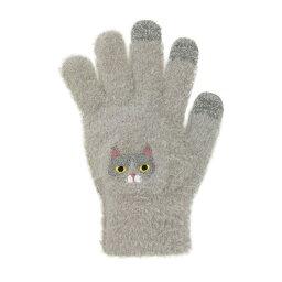 スマホ手袋 ハチワレネコ 17318631032
