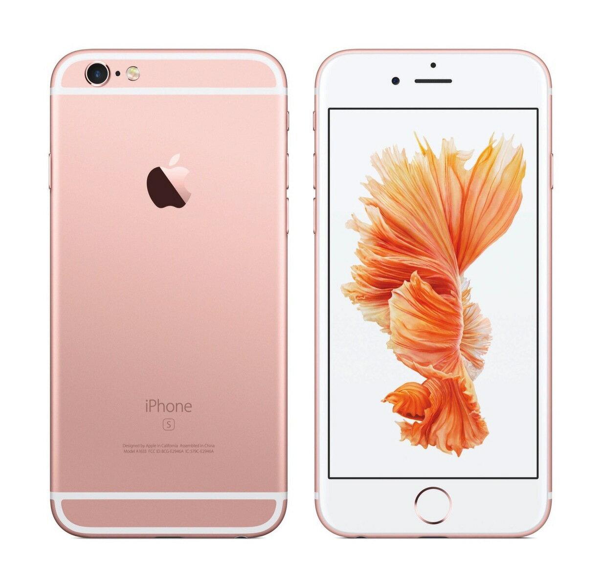af78f441b9 「新品 未使用品 白ロム」 UQ iphone 6s 128gb RoseGold ローズゴールド※赤ロム永久保証  [Apple/アップル][アイフォン][MKQW2J/A][A1688] UQ iPhone 6s 128GB ローズ ...