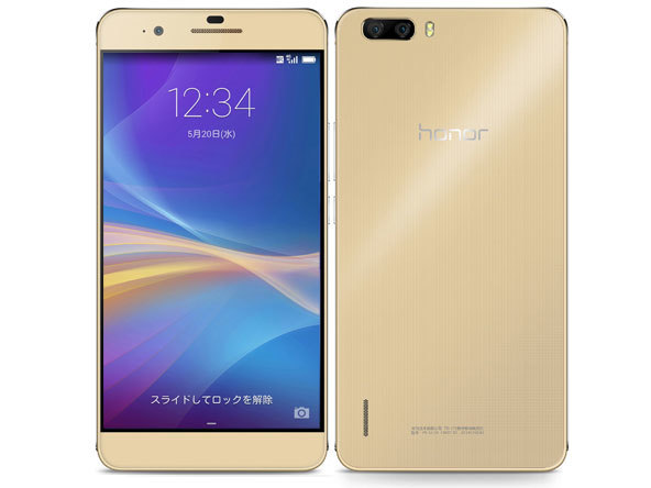 Huawei/honor6 Plus/SIMフリー「新品未開封品」国内版SIMフリー Huawei honor6 Plus(PE-TL10) Go...