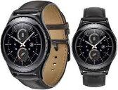 「国内正規販売品」SAMSUNG Gear S2 classic ブラック SM-R732 ウェアラブル活動量計 ウォッチタイプ[スマートウォッチ][腕時計]