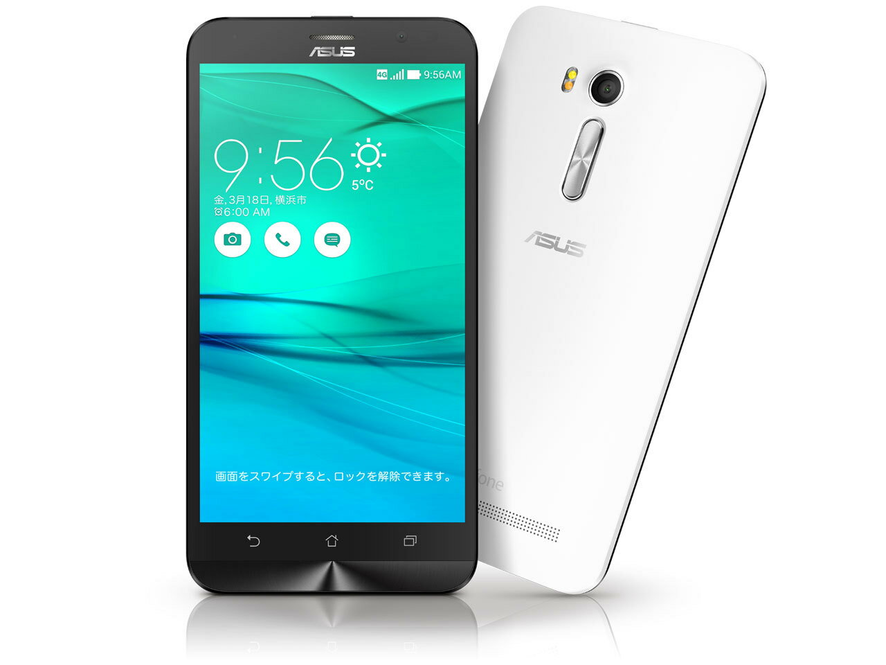 ASUSのエントリー向けSIMフリースマホ「新品 未使用品」SIMフリー ASUS ZenFone Go ZB551KL RAM2...