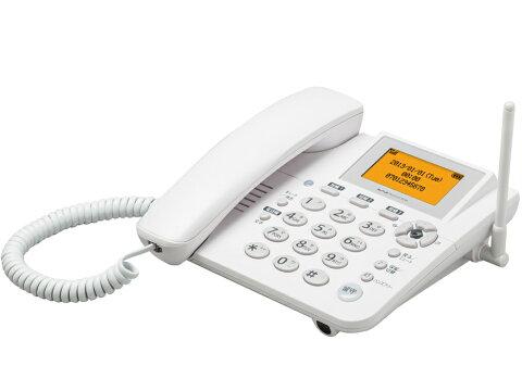 「新品 未使用品」WILLCOM ウィルコム イエデンワ2 WX05A white ホワイト [電話機]