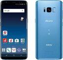 「新品 未使用品」 SIMフリー docomo Galaxy S8 SC-02J Coral Blue コーラルブルー [ docomo SIMロック解除 ][サムソン/Samsung]
