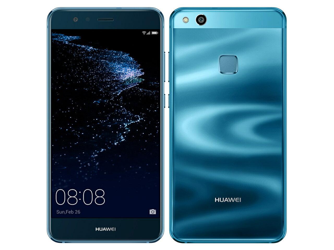 「新品 未開封品」Huawei(ファーウェイ) P10 Lite WAS-LX2J sapphire blue サファイアブルー [LTE対応] [SIMフリースマホ]