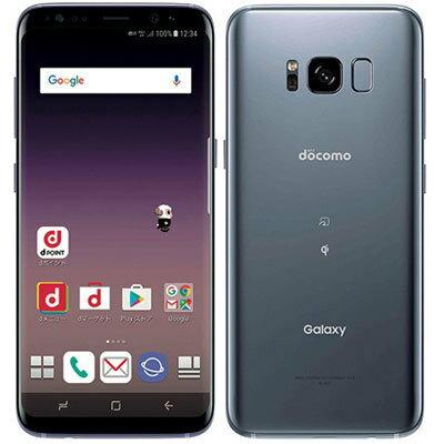 このスマホ、『枠』にハマらない「新品 未使用品 」 SIMフリー docomo Galaxy S8 SC-02J Orchid ...