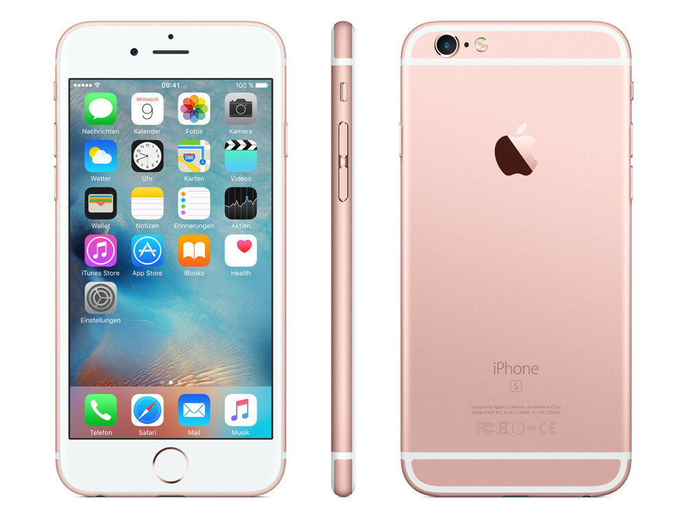 docomo simロック解除 iPhone 6s 32GB ローズゴールド[新品 未使用品 白ロム]SIMフリー iphone ...