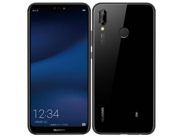 眺めても、手にしても心地良い、すっきりとしたデザイン「新品 未使用品 SIMフリー」Huawei au版...