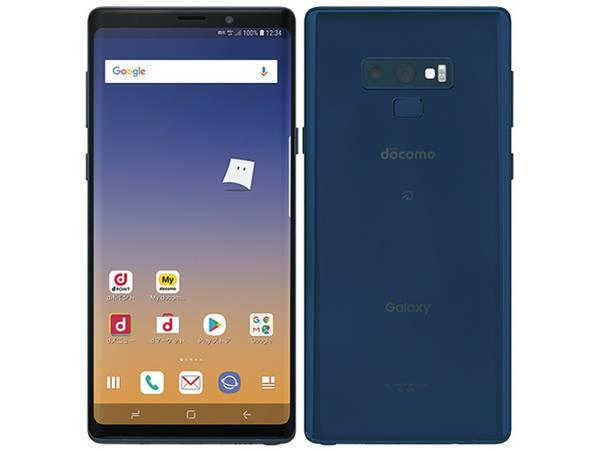 SIMフリー Galaxy Note9 SC-01L Ocean Blue オーシャンブルー「新品 未使用品 白ロム」SIMフリー...