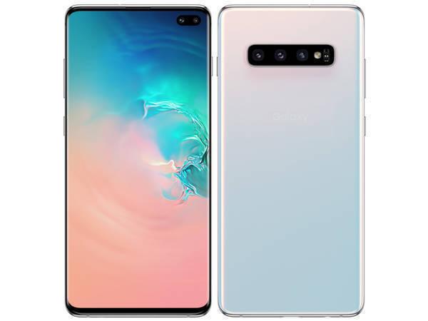 au SIMロック解除/ Galaxy S10+/ scv42/simフリー/Samsung「新品 未使用品 白ロム」SIMフリー au...