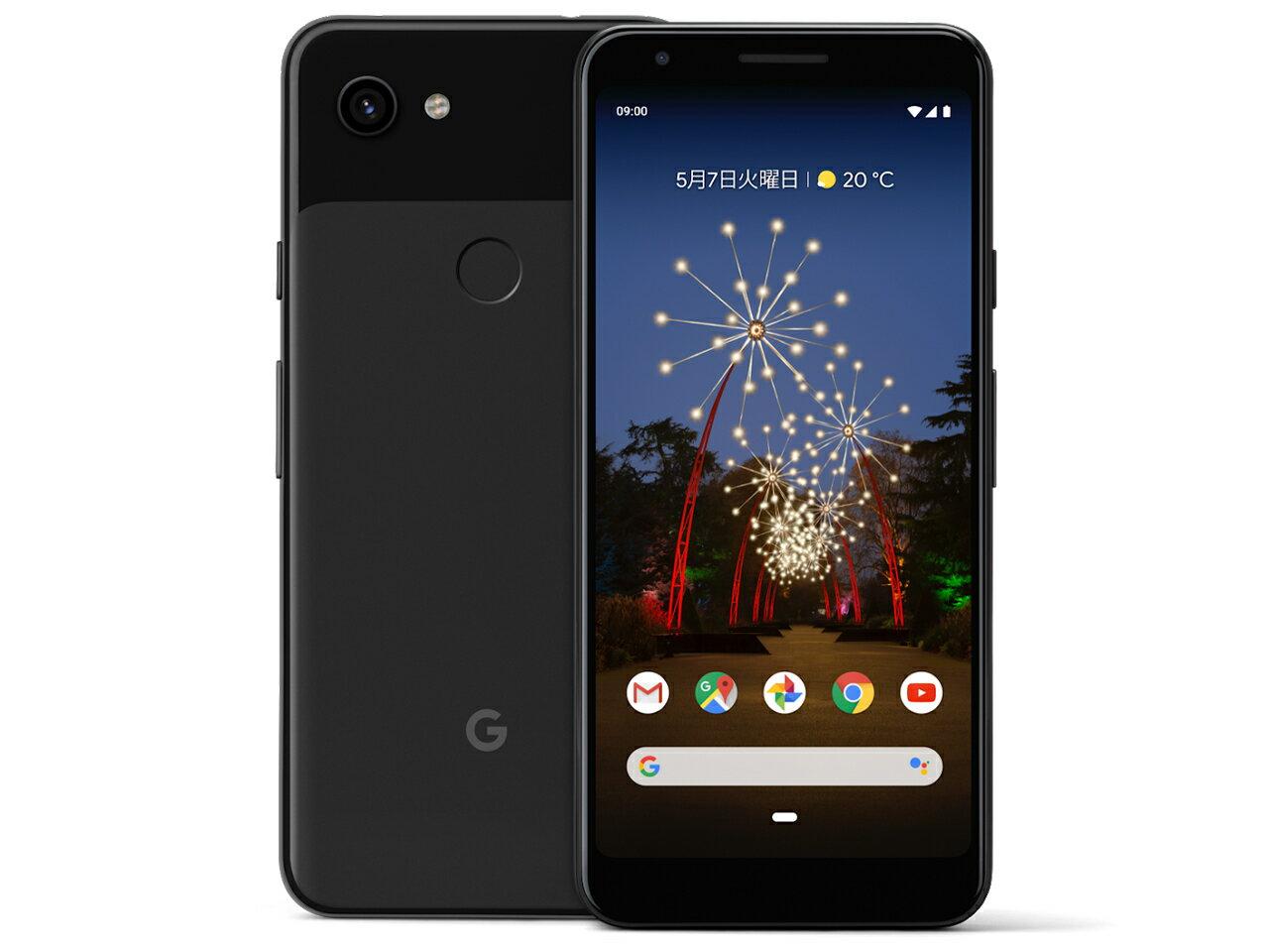 softabnk/Google/SIMフリー/Pixel 3a/64gb/G020H/just black「新品 未使用品 白ロム」SIMフリー ...