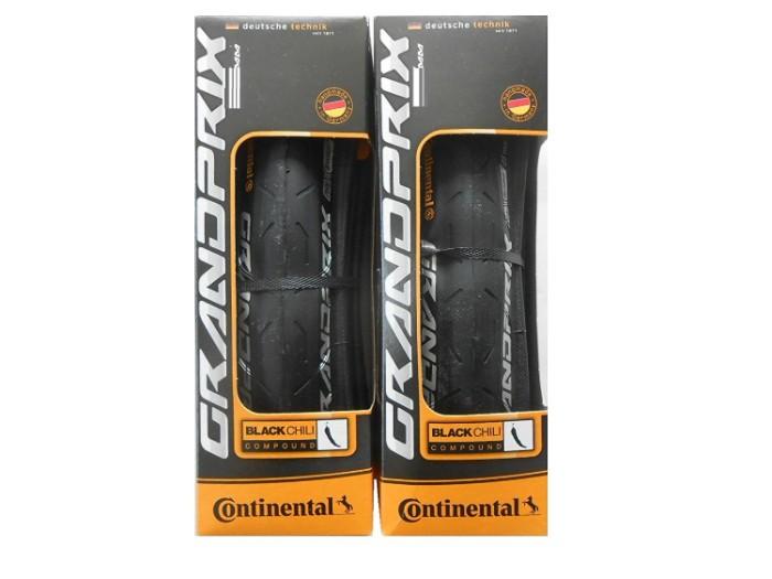 2本セット Continental コンチネンタル GRAND PRIX グランプリ 700×25c 700c クリンチャー タイヤ ブラック ロードバイク 自転車
