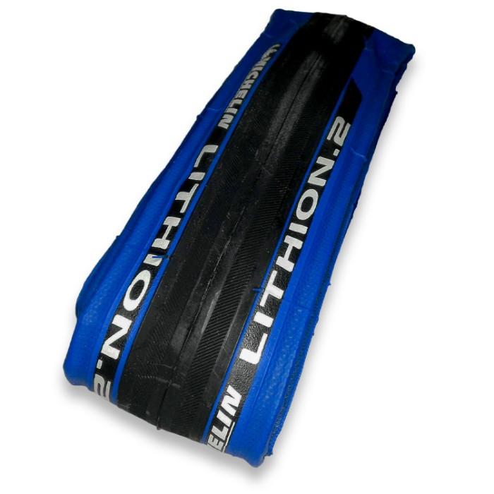 2本セット Michelin ミシュラン リチオン2 V2 ブルー 700×23C 23-622 Lithion2青 blue 23C クリンチャー