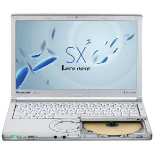新品ノートパソコンパナソニックLet'snoteSX4(Windows7Professional32ビット/Corei5-5200U/4GB/320GB/DVDスーパーマルチ/12.1インチ)【納期〜3営業日】【送料無料】【メーカー保証】【02P07Feb16】【P19Jul15】